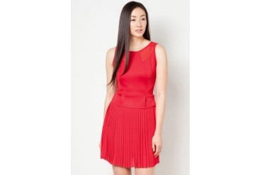 DressingPaula Accordion Knee Length Dress