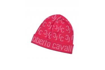 All Over Logo Brim Knit Wool Skull Cap