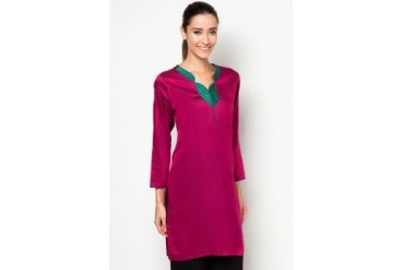 HiDY Exclusive Shantung Silk Kurti