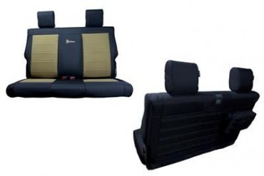 Trek Armor Rear Split Bench Seat Cover TAJKSC0810R4BK Seat Cover