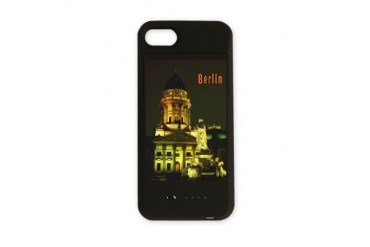 Berlin night lights.jpg Architecture iPhone Charger Case by CafePress