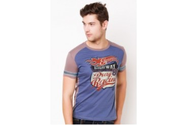 Suede Print T-shirt
