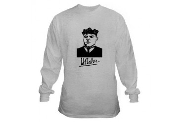 Hilaire Belloc Long Signature Shirt Catholic Sun Christian Long Sleeve T-Shirt by CafePress
