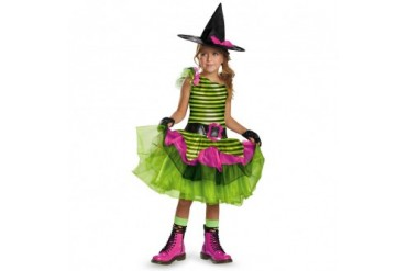 Girls Whimsy Witch Halloween Costume