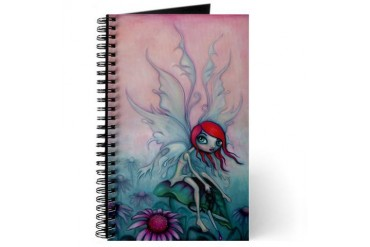 Echinacea Fairy Cute Journal by CafePress