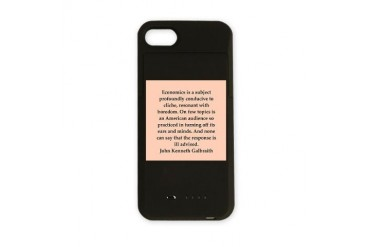 3.png Quote iPhone Charger Case by CafePress