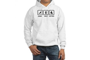 Pottery Making Funny Hooded Sweatshirt by CafePress