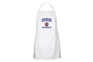 HOPKINS University BBQ School Apron by CafePress