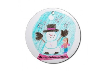 Ornament Round Round Ornament by CafePress