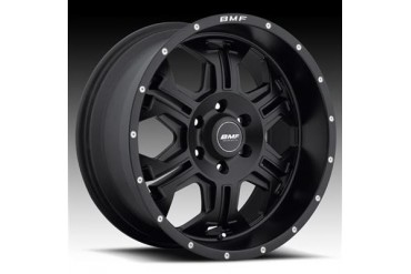 BMF Wheels S.E.R.E, 20x9 with 6 on 5.5 Bolt Pattern - Stealth Satin Black 463SB-090613900 BMF Wheels