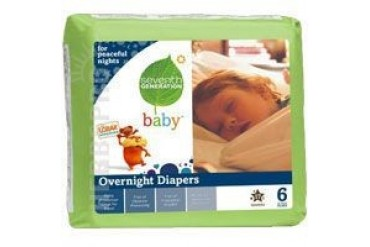 Baby Overnight Diapers Stage 6 17 CT(case of 4)