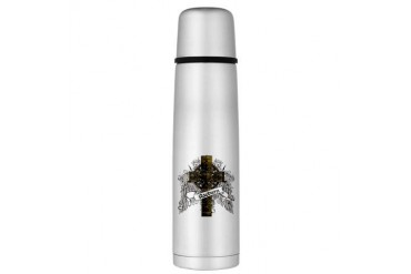 Raeburn Tartan Cross Large Thermos Bottle Family Large Thermosreg; Bottle by CafePress