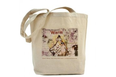 Ladies Prefer Their Dogs Warm Pets Tote Bag by CafePress