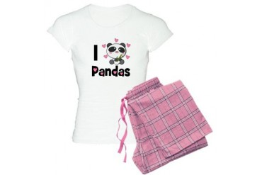 Panda Love Women's Light Pajamas