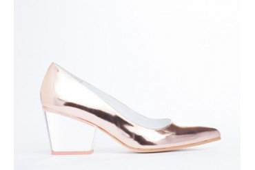 Emma Go Macy in Metal Peach Perspex size 11.0