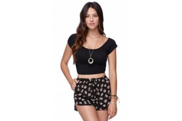 Womens Nollie - Nollie Cross Back Crop Top
