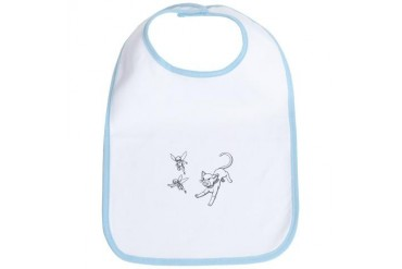 The Chase White Cats Bib by CafePress