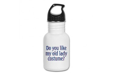 Humor Kid's Water Bottle by CafePress