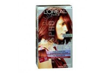 L'Oreal Feria Permanent Haircolour Gel 56 Brilliant Bordeaux 1 each