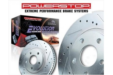 Power Stop 1-Click Brake Kit K2147-36 Replacement Brake Pad and Rotor Kit