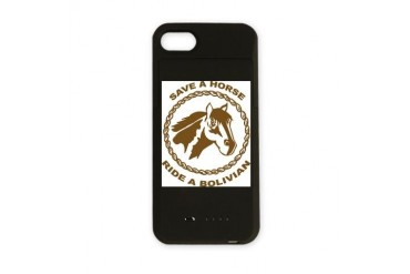 Ride A Bolivian Bolivia iPhone Charger Case by CafePress