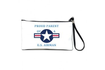 Air Force Parent Air force Clutch Bag by CafePress