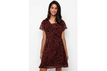 Accent Kate Red H-Line Dress