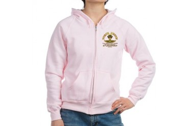 Force Recon The Difficult Military Women's Zip Hoodie by CafePress