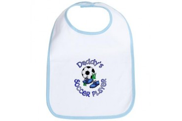 Daddy's Soccer Player Soccer Bib by CafePress