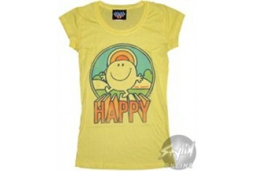 Little Miss Happy Baby Doll Tee by JUNK FOOD