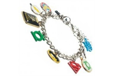 DC Comics Justice League Hero Charm Bracelet