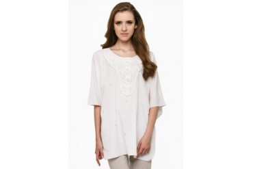 Mint Festive Collection Batwing With Gold Neck Patch