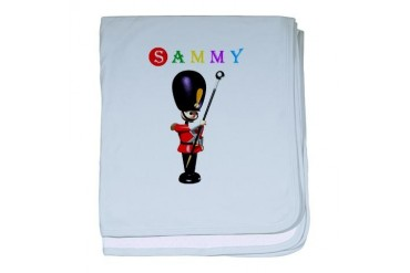 Sammy Marching band baby blanket by CafePress