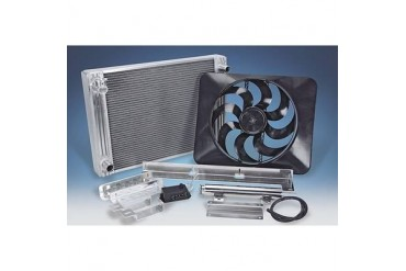 Flex-A-Lite Flex-A-Lite Radiator And Fan Package 56410R Radiator Electric Fan Combination Kit