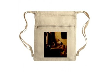 card player art Sack Pack Poker Cinch Sack by CafePress
