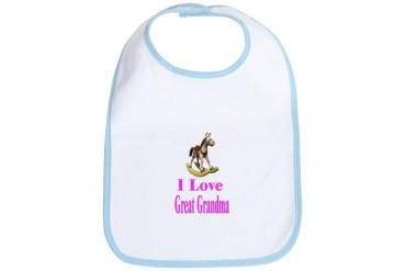 Great Grandma Baby Bib by CafePress