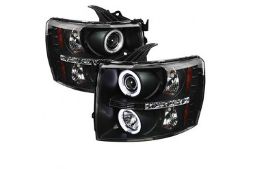 Spyder Auto Group CCFL LED Projector Headlights 5033864 Headlight Replacement