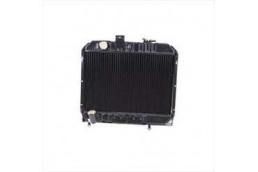 Omix-Ada Replacement 2 Core Radiator for 134 4 Cylinder Engines with Manual Transmission 17101.02 Radiator