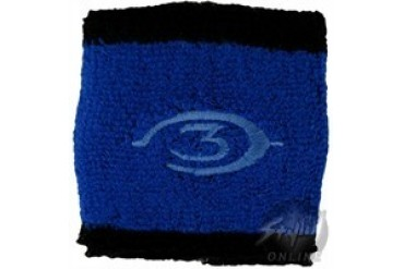 Halo 3 Blue Logo with Black Wristbands