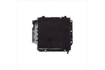 Omix-Ada Replacement 2 Core Radiator for 4 or 6 Cylinder Engine with Automatic Transmission 17101.11 Radiator