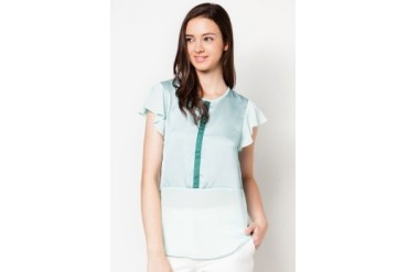 DressingPaula Ruffled Short Sleeve Top
