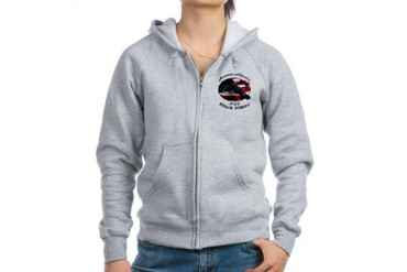 P-61 Black Widow Hobbies Women's Zip Hoodie by CafePress