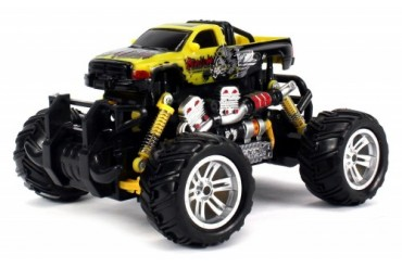 Graffiti Dodge RAM RC Off-Road Monster Truck 1 18