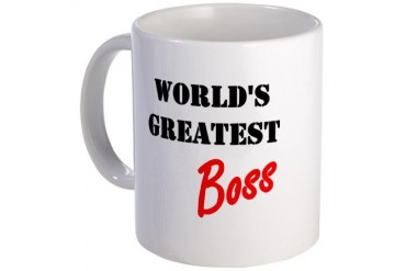 World's Greatest Boss Mother's day Mug by CafePress