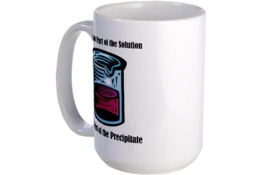 Precipitate Large Mug