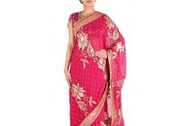 Ravishing Georgette Saree