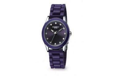 Eyki EYKI OVERFLY W8510G-03 PURPLE DIAMOND LADIES RUBBER WATCH