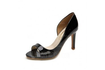 Leatherette Stiletto Heel Sandals shoes (087050201)