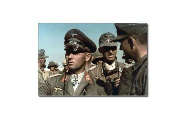 Erwin Rommel Military Postcards Package of 8 by CafePress