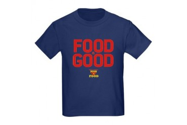 Food is Good Kids Dark T-Shirt